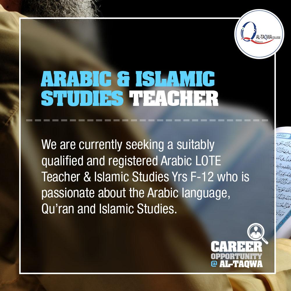 Careers at Al-Taqwa – Al-Taqwa College